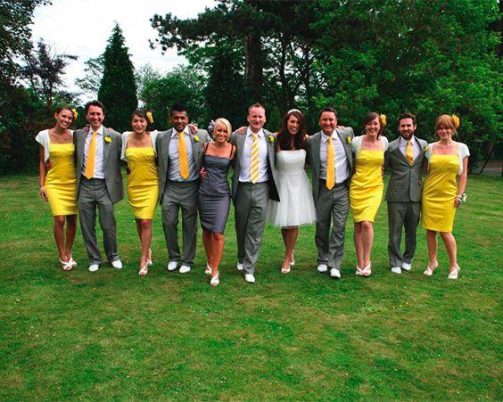 Колірна гамма весілля повинна бути яскравою