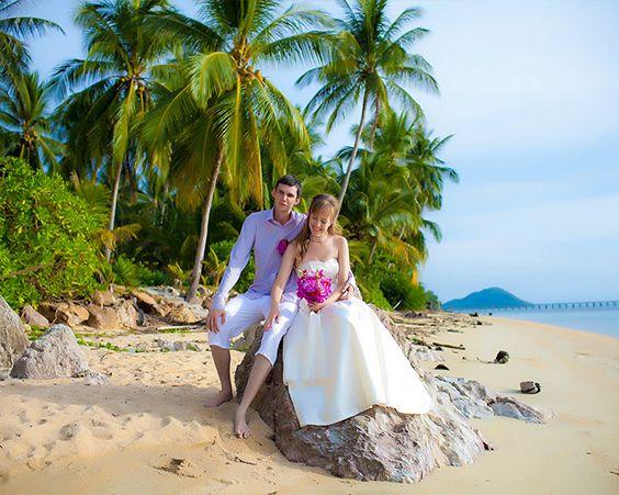 Пляжна весілля - то, що потрібно для спекотного літа