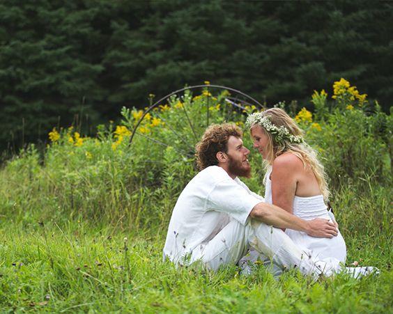Стиль хіпі - відмінна ідея для весілля