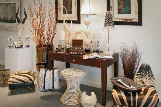 Африканський стиль в інтер`єрі - правила декорування приміщень