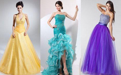 Пишні вечірні сукні
