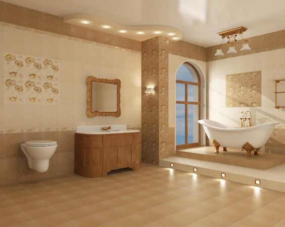 За допомогою плитки можна змінити всю ванну до невпізнання