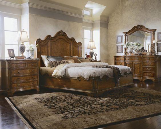 Спальня в англійському стилі - зразок елегантності