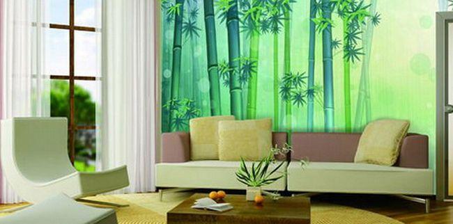 Бамбук в інтер`єрі - поради дизайнерів
