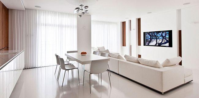 Білий колір в інтер`єрі - ідеї і особливості