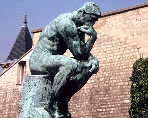 Статуя «Мислитель»