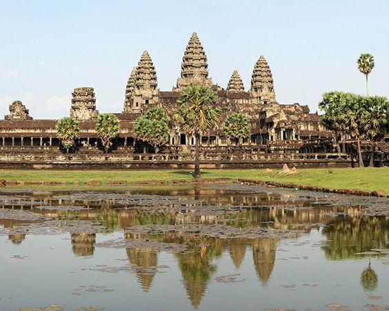 Ангкор-Ват у Камбоджі