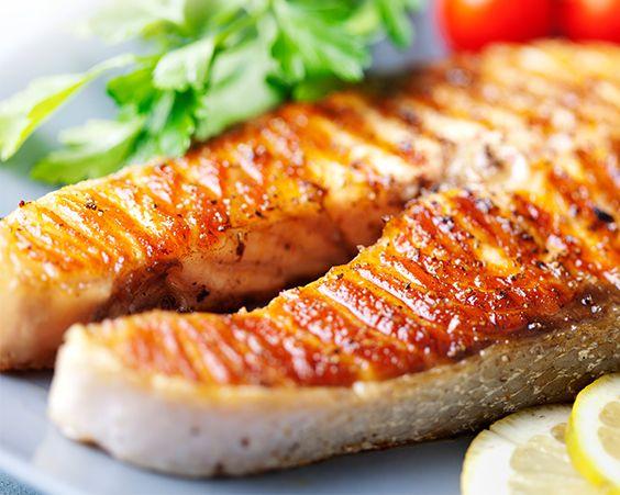 Класичний варіант приготування лосося на грилі