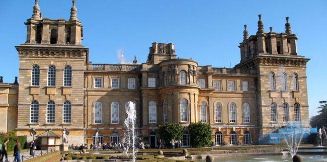 Резиденція герцогів Мальборо - Бленгеймський палац