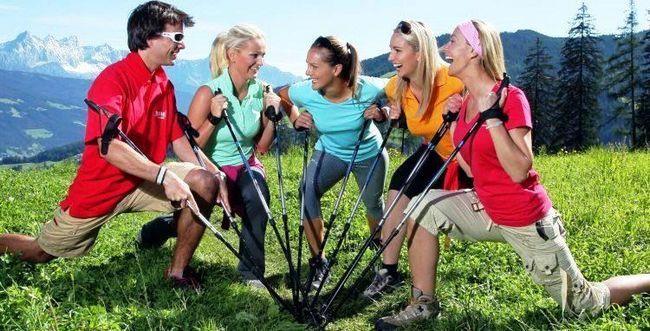 Що таке скандинавська ходьба з палицями?