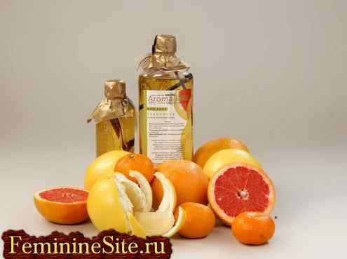 Цитрусові ефірні масла - корисні властивості, протипоказання.