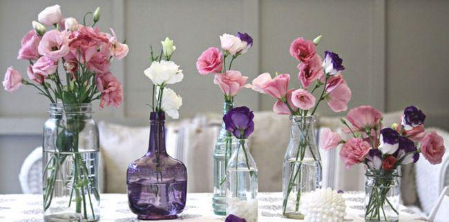 Красиві квіткові композиції в інтер`єрі