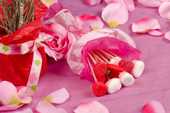 Квіти з цукерок - основи світ-дизайну