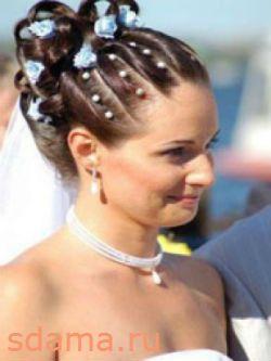 Весільні зачіски