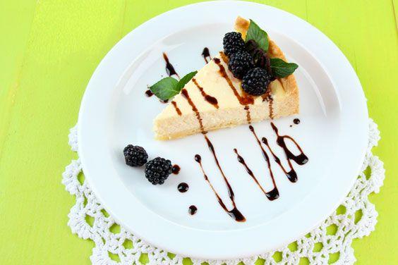 Ніжний десерт з сирного сиру і макового насіння