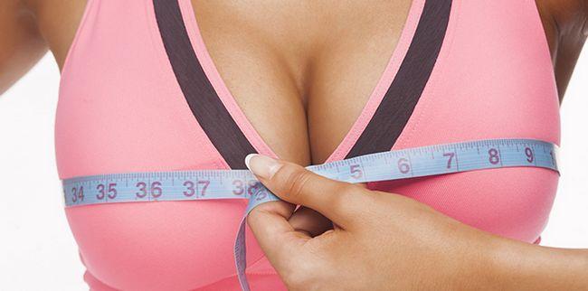 Дієта для збільшення грудей
