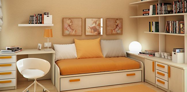 Гарний дизайн для маленької кімнати
