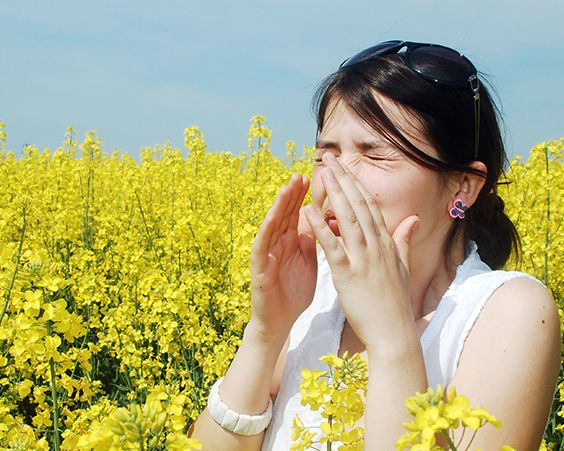 Алергія - як полегшити симптоми