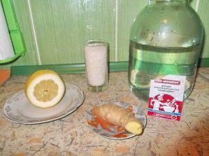 Домашній імбирний ель - напій з імбиру