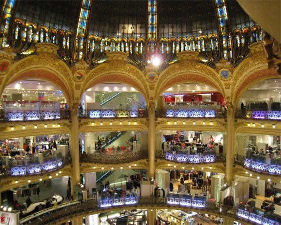 Галерея Лафаєт в Парижі - найбільший торговий центр мережі