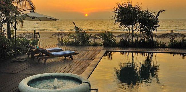 Курорт Нгапалі М`янма