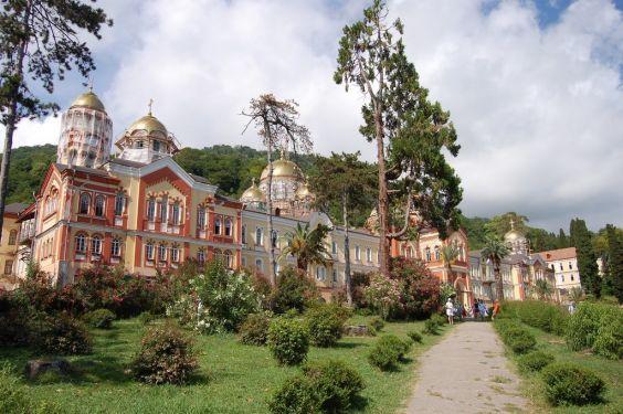 Новоафонский монастир - головна святиня