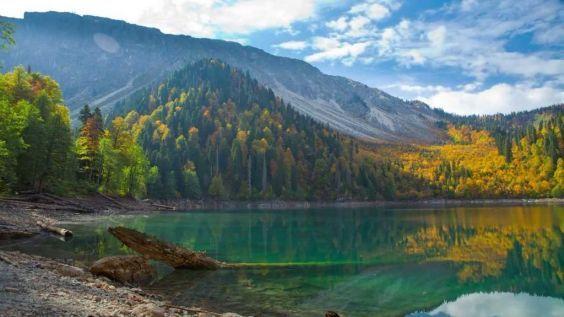 Загадкове озеро Ріца