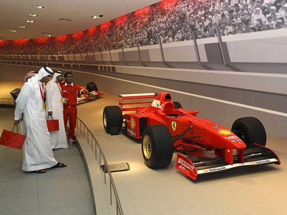 Парк «Ferrari World» на острові Саадіят
