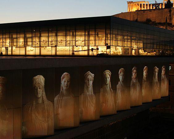 Новий музей Акрополя в Афінах