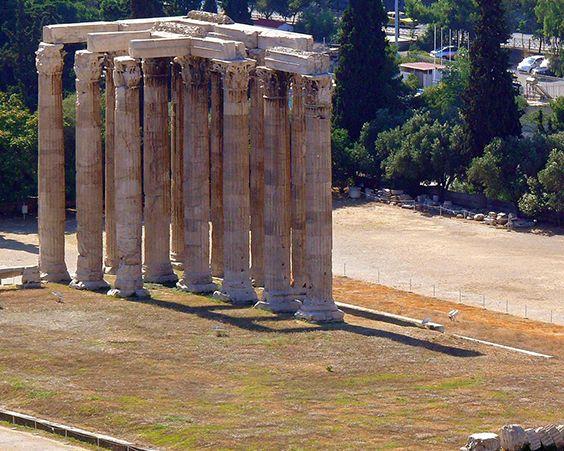 Колони храму Зевса