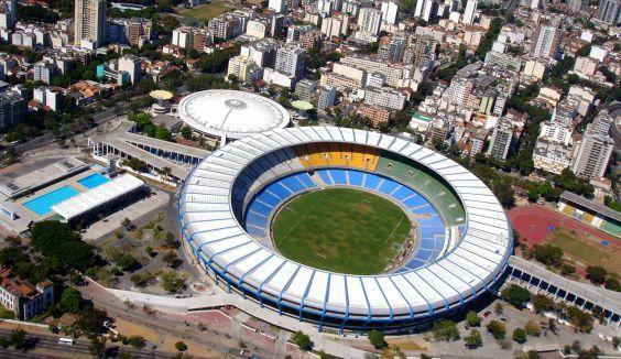 Стадіон «Маракана» вид зверху
