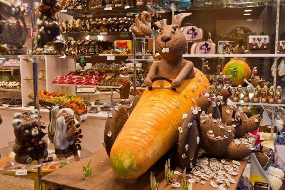 Музей шоколаду Брюгге