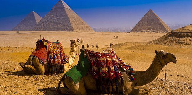 Головні пам`ятки Єгипту