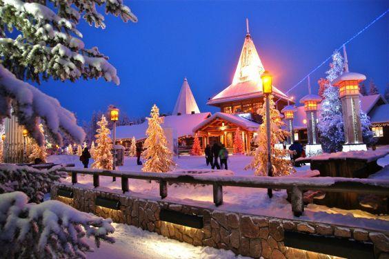 Село Санта Клауса в Рованіємі