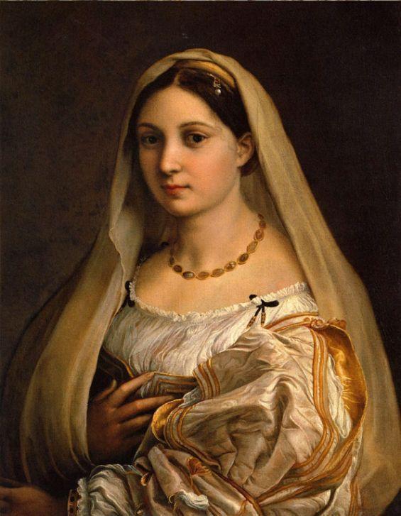 «Донна Велата» зберігається в палаццо Пітті