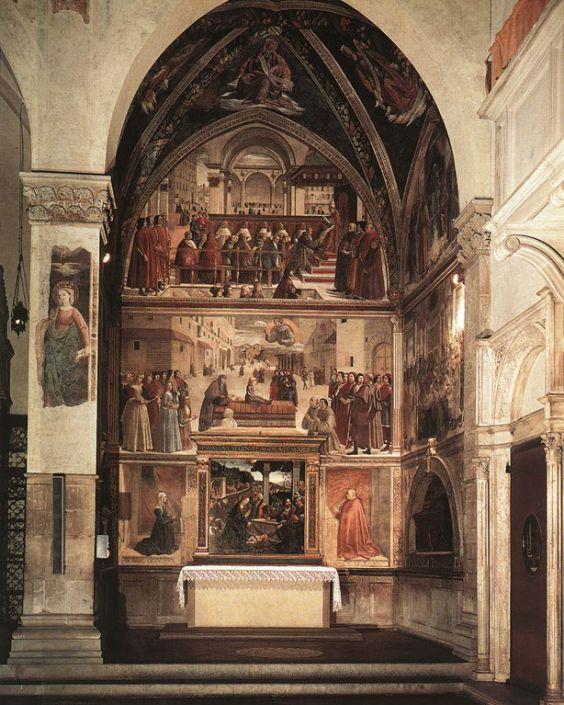 Церква Санта Тринита. фрески