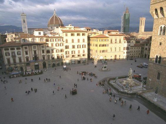Флорентійська площа Синьйорії