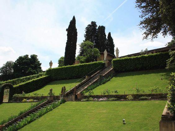 Мальовничі сади Боболі
