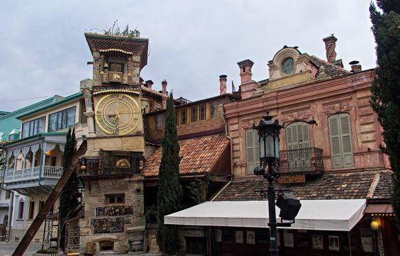 Район столиці Старий Тбілісі