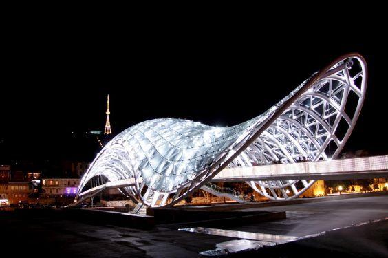 Міст світу в Тбілісі