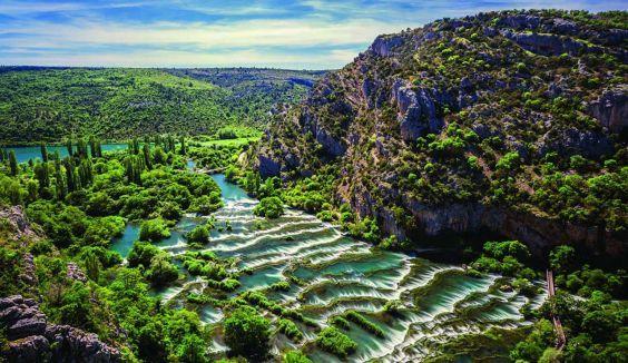 Мальовничий національний парк Крка