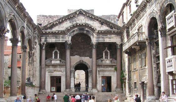 Палац Діоклетіана в Спліті