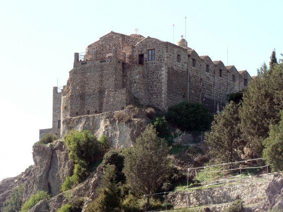 Монастир Ставровуні, заснований імператрицею Оленою