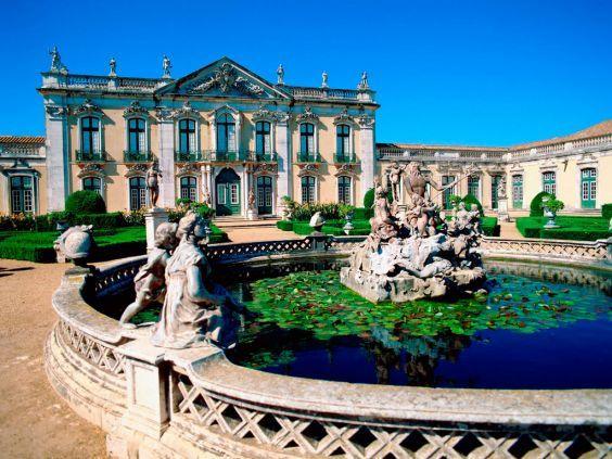 Палац Келуш в передмісті Лісабона
