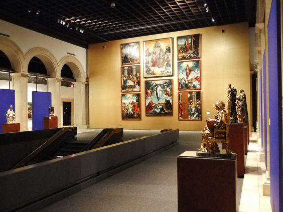 Національний музей стародавнього мистецтва Лісабона. В одному із залів