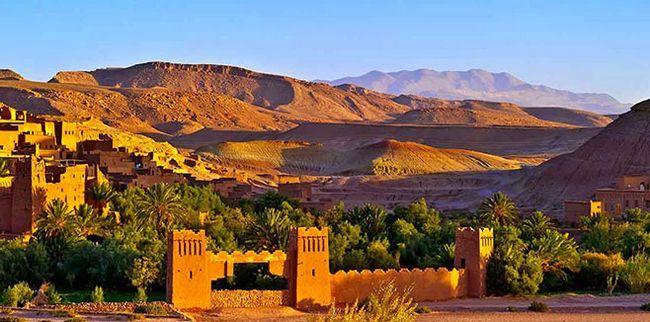 Головні пам`ятки Марокко