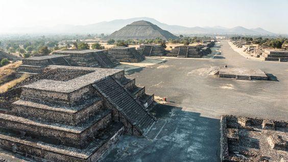Піраміди міста Теотіуакан