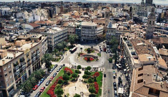 Площа Королеви - серце Валенсії