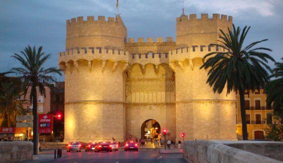 Середньовічні ворота Серранос