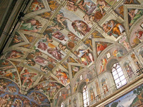 Стельові фрески Мікеланджело